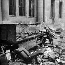 wwii berlin 1945 in the garden of the reich chancellery the