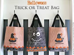 personalized trick or treat bags trick or treat bag pattern the cottage