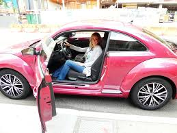 volkswagen new beetle pink 2017 pink beetle mommy travels