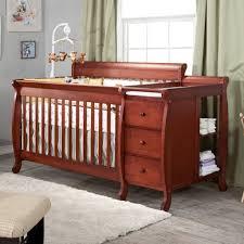 oak convertible crib table fascinating oak baby changing table dresser combo thebangups