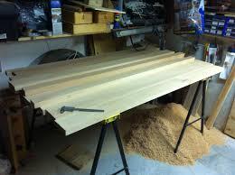 Wall Mount Folding Table Tommy U0027s Wall Mounted Folding Workbench The Wood Whisperer