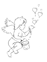 coloring dog valentines hearts coloring pages