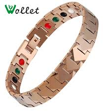 energy bracelet mens images Wollet jewelry mens energy bracelet magnet and germanium infrared jpg