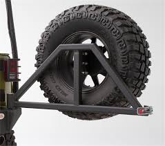 jeep body armor bumper amazon com body armor 4x4 5294 black steel swing arm tire