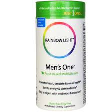 rainbow light prenatal one multivitamin rainbow light just once men s one food based multivitamin 90
