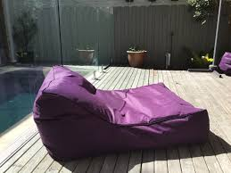 furniture purple floating pool lounge chair with thick material