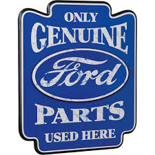 logo ford retro ford genuine parts wooden bar pub sign www kotulas com