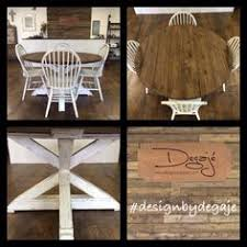 diy round farmhouse table stunning handmade rustic round farmhouse table by modernrefinement