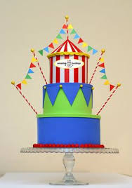circus cake toppers birthday cake topper something made circus