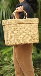 wholesale 16 u201d water reed shopping bag in bulk u2013 source hand woven
