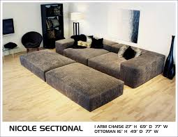 furniture magnificent red sofa bed deep comfortable sectional