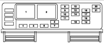 solved i need a diagram of a fuse box for a 2004 ford fixya