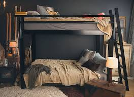 Black Bunk Beds Bunk Bed Francis Lofts Bunks
