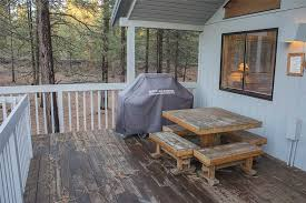 Deck With Patio by Deer Lane 11 Village Properties At Sunriver