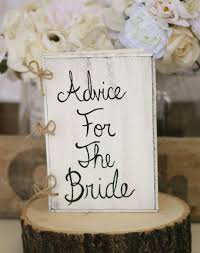 bridal shower sign in book bridal shower guest book advice for the book rustic chic
