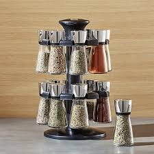 Crate And Barrel Shower Curtains Cole And Mason 16 Jar Herb And Spice Rack Crate And Barrel