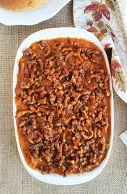 sweet potato thanksgiving side dish salted caramel sweet potato casserole 3 yummy tummies