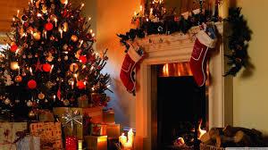 christmas tree house hd desktop wallpaper for 4k ultra hd tv