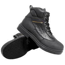 womens steel toe boots size 11 genuine grip 7800 s size 11 wide width black injection