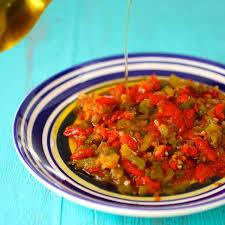 cuisine nord africaine hmiss slata mechouia recette tomates grillées tomates et la