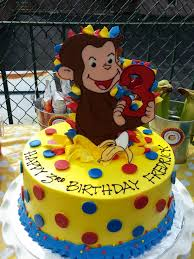 curious george birthday cake curious george birthday cake by riviera bakehouse party time