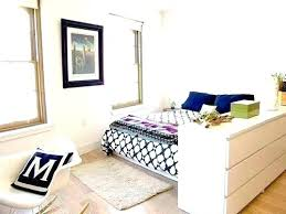 Studio Bedroom Ideas Studio Room Dividers Small Bedroom Divider