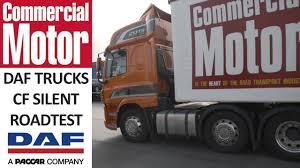 paccar trucks daf trucks uk daf cf silent press truck commercial motor road