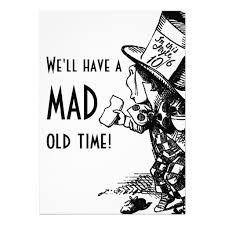 personalized mad hatter invitations custominvitations4u com