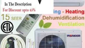ductless mini split air conditioner clearance pioneer ductless mini split inverter air conditioner