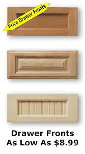 Replacement Doors And Drawer Fronts For Kitchen Cabinets Unfinished Shaker Cabinet Doors As Low As 8 99