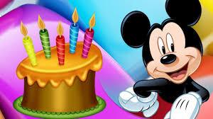 imagenes cumpleaños niños cancion de feliz cumpleaños mickey mouse feliz cumpleaños niños