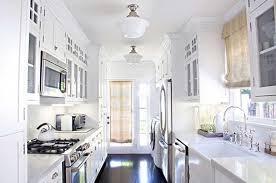 Black Galley Kitchen - charming white galley kitchen images with black flooring ideas