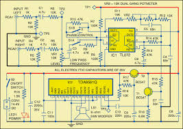 circuit diagram of the subwoofer for cars electronica pinterest
