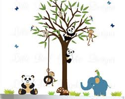 childrens wall decals nursery tree decals by littlebirdwalldecals