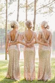 2016 wedding trends u2013 sequined and metallic bridesmaid dresses