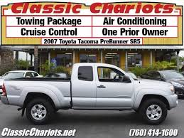 toyota tacoma near me sold used truck near me 2007 toyota tacoma prerunner v6 with