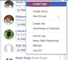 create facebook fan page how to create facebook fan page javatpoint