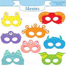masks for kids printable masks masks monsters