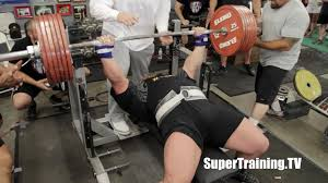 Ideal Bench Press Weight Eric Spoto 722 Lbs 327 5 Kg World Record Raw Bench Press