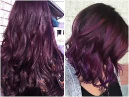 different shades of purple names purple red hair color name best hair color inspiration 2018