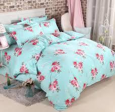 fashion house cotton printing western bedding sets floral duvet