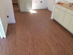 Cork Flooring In Kitchen by Cork Flooring Installed In Kitchen With Custom Plywood Cabinets