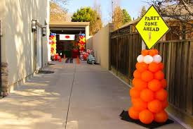 truck birthday party event design company party rental draping