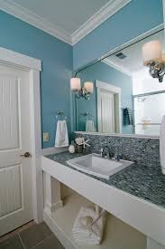 Spa In Bathroom - bright delta dryden in bathroom beach style with van courtland