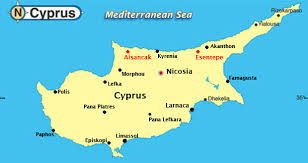 map of cyprus map of cyprus travel map travelquaz com