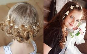 coiffure mariage enfant coiffure mariage enfant cheveux courts