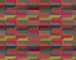Geometric Fabrics Upholstery Dark Blue Geometric Upholstery Fabric Navy White Cotton