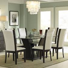 glass dining room table set enhance your kitchen with some best glass dining room sets
