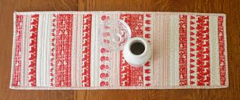 Holiday Table Runners by Pellon Batting For All U2013 Pellon Projects U2014 The Blog