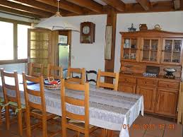 landes dining room house landes messanges character calm and rest sea 2 km west vail